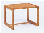 Classic Series: Sled Base Corner Table - C1380T3