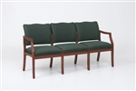 Franklin Series: 3 Seat Sofa - Healthcare Vinyl - D3851K5