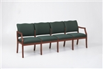 Franklin Series: 4 Seat Sofa - Healthcare Vinyl - D4851K5