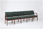 Franklin Series: 5 Seat Sofa - Healthcare Vinyl - D5851K5