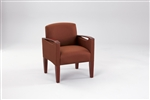 Brewster Series: Guest Chair - Healthcare Vinyl - F1451K6