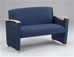 Somerset Series: Loveseat - Healthcare Vinyl - F1501G6