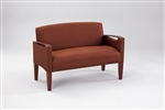 Brewster Series: Loveseat - Healthcare Vinyl - F1551K6