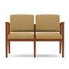 Amherst Open Arm Series: 2 Seat Sofa - Healthcare Vinyl - K2401G5