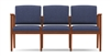 Amherst Open Arm Series: 3 Seat Sofa - Healthcare Vinyl - K3401G5