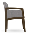 Lenox Panel Arm Series: Guest Chair - Healthcare Vinyl - L1131G6