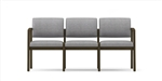 Lenox Open Arm Series: 3 Seat Sofa - Healthcare Vinyl - L3101G5