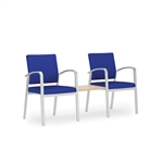 Newport Series: 2 Chairs with Connecting Center Table - NP2411G5
