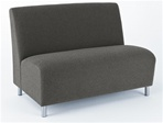 Ravenna Series: Armless Loveseat from Lesro