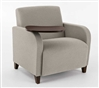 Siena Series: 500 lb. Capacity Guest Chair with Swivel Tablet - Q1631G3