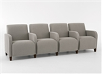 Siena Series: 4 Seats with Center Arms - Q4403G3