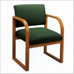 Healthcare Reception: Contour Round Back Guest Chair