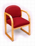 Contour Series Round Back Guest Side Chair