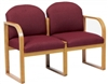 Healthcare Reception: Contour 2-Seat Round Back Sofa