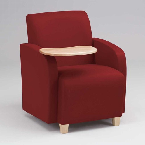 Awesome Siena Series Guest Chair With Swivel Tablet Sn1431G3 Theyellowbook Wood Chair Design Ideas Theyellowbookinfo