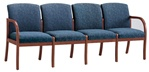 Weston Series: 4 Seat Sofa - Healthcare Vinyl - W4301G5
