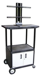 "Endura Series Plasma/LCD TV Cart - 54""H"