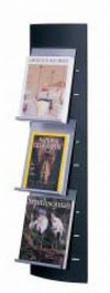 Wall-Mounted Brochure Holder
