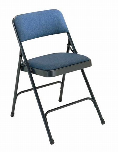 Padded Folding Chair From National Public Seating Corp