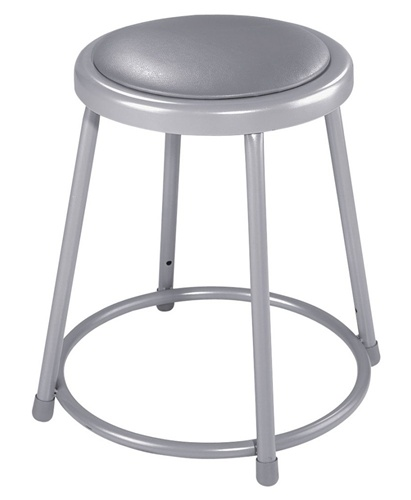 Astonishing 30H Lab Stool With Grey Padded Seat 6430 Forskolin Free Trial Chair Design Images Forskolin Free Trialorg