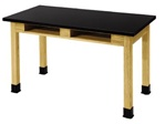 "Science Lab Table - 30""W x 60""L from National Public Seating"