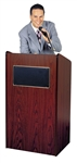 Aristocrat Floor Lectern with Sound
