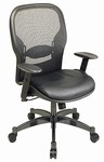 Matrex Back Mesh Tilter Leather Chair