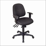 Ergonomic Chair with Ratchet Back and Multi Function Control