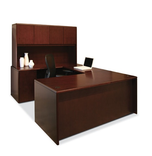 margate wood veneer series desking from offices to go available at office furniture concepts. Black Bedroom Furniture Sets. Home Design Ideas
