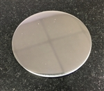 "2"" Cover plate for glass shower doors"
