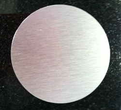 Cover plate for glass doors - 3""