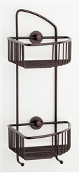 Shower Caddy-corner mount