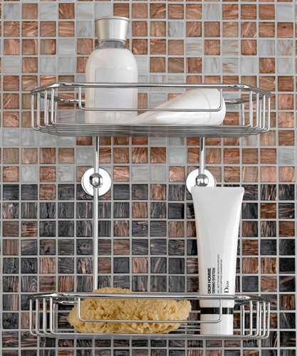 Double caddy includes the no drilling required mounting hardware by ...