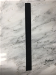 Replacement rubber squeegee insert