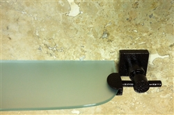 Glass Bath Shelf