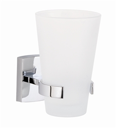 Glass Tumbler-Wall Mount