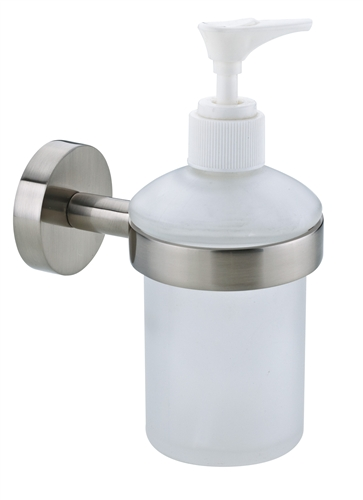 No Drilling Required Glass Soap Dispenser For Tile Stone Glass