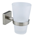 Drinking Glass-Toothbrush Holder-Wall Mount