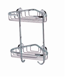 Corner Bath Caddy-Double