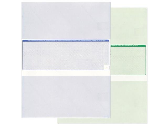 Middle Check Position | #502 Blank Laser Printer Checks