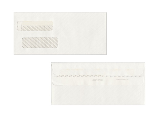 ENVSTD Large Self Seal Double Window Envelopes - Quickbooks invoice envelopes