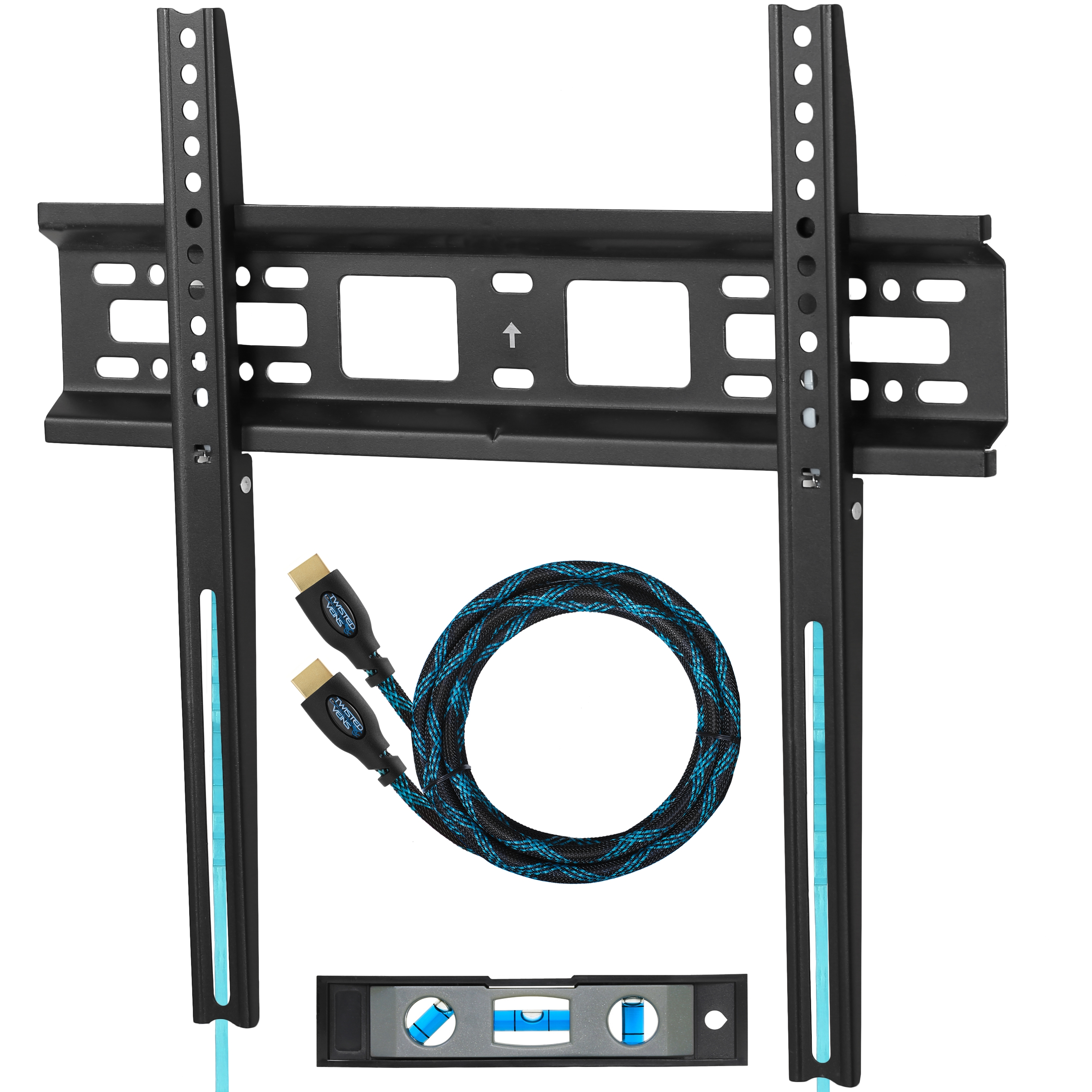 Cheetah Mounts Apfmsb Tv Wall Mount Bracket For 20 55 Tvs Up To Vesa 400 And