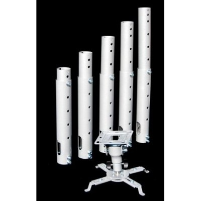 Cheetah Mounts Silver Extension Poles For Projector