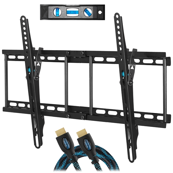 "Cheetah APTMM2B TV Wall Mount for 20-80"" TVs (some up to 90"") up to VESA 600 and 165lbs"