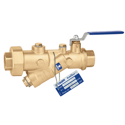 "Caleffi 121 FlowCal™ ½"" sweat automatic flow balancing valve with integral ball valve. 121149A"