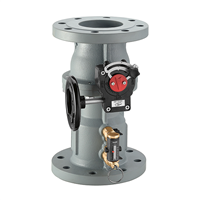 "Caleffi 2 ½"" ANSI flange, 132 QuickSetter Balancing valve with flow meter. 132060A"