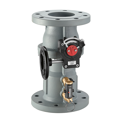 "Caleffi 4"" ANSI flange, 132 QuickSetter Balancing valve with flow meter. 132100A"
