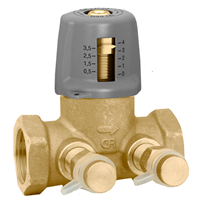 "Caleffi 142 Variable Orifice 1 ¼"" NPT balancing valve. 142271A"