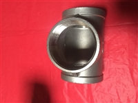 "304, 3"" Stainless Steel Tee, Female NPT, 150 PSI WP"