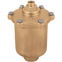 "Caleffi 501 Maxcal 3/4"" NPT Automatic air vent for heating and air conditioning. 501502A"